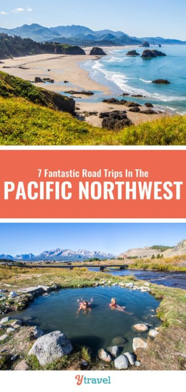 Want to do a Pacific Northwest road trip? It just got easier with this guide on 7 road trip ideas that take in the best of Oregon, Washington State and Idaho. Check out this travel guide before you plan your next vacation to the PNW.