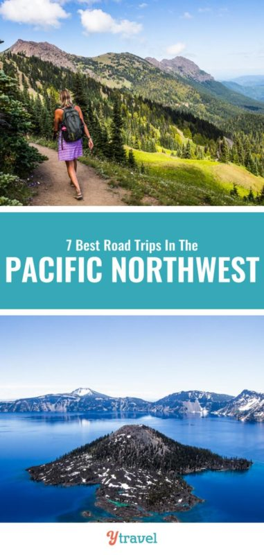 Looking for Pacific Northwest road trip ideas? Here is a guide on 7 road trips that take in the best of Oregon, Washington State and Idaho. Check this out before you plan your next family vacation to the PNW.
