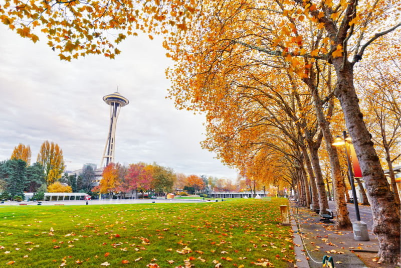 Autumn colors in Seattle