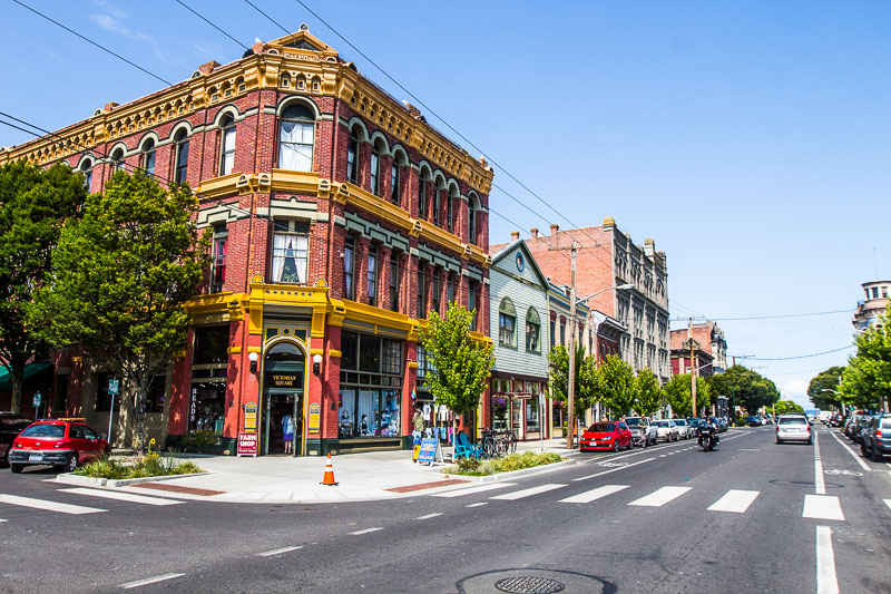 Downtown Port Townsend
