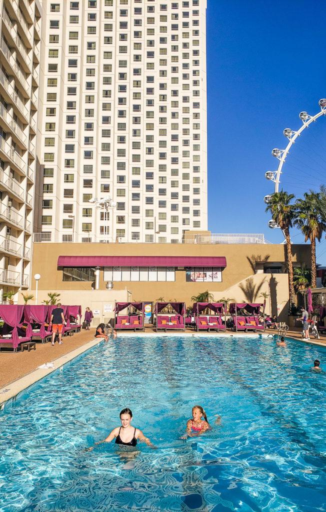 Pool time at Harrah's Hotel & Casino