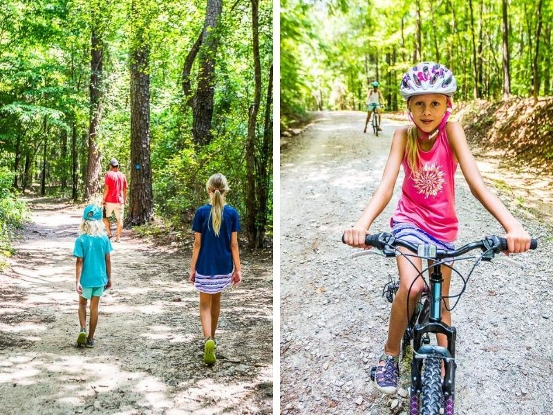 Exploring Umstead State Park, Raleigh