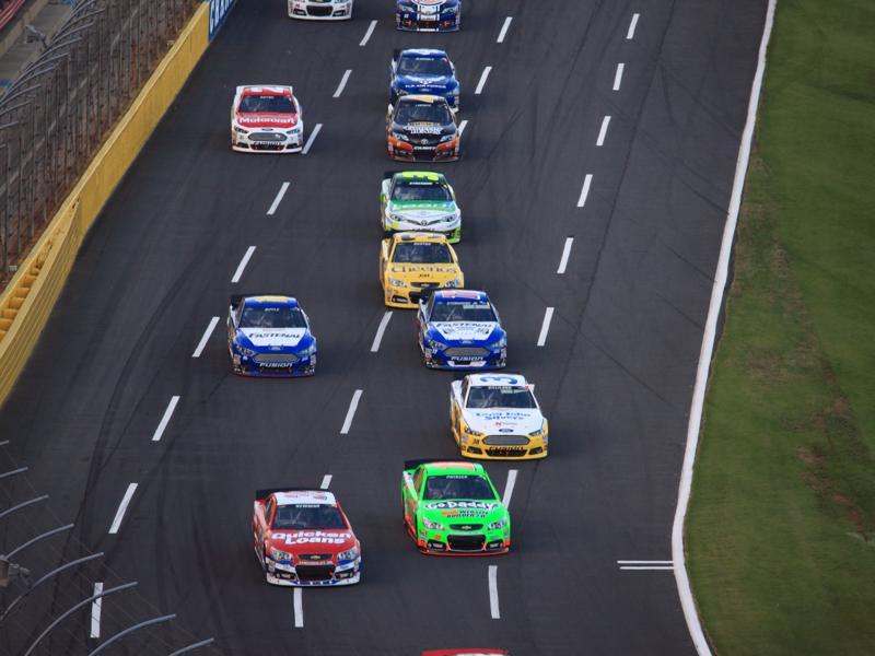 Charlotte Motor Speedway fun NC