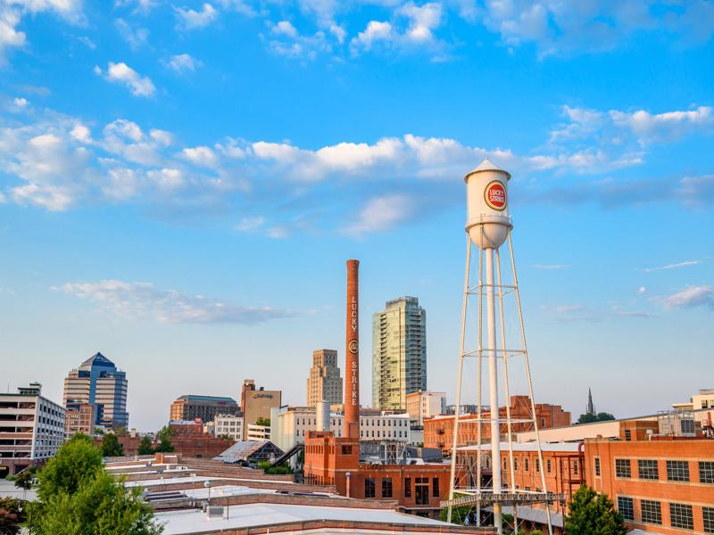 Durham  top place to visit in North CArolina
