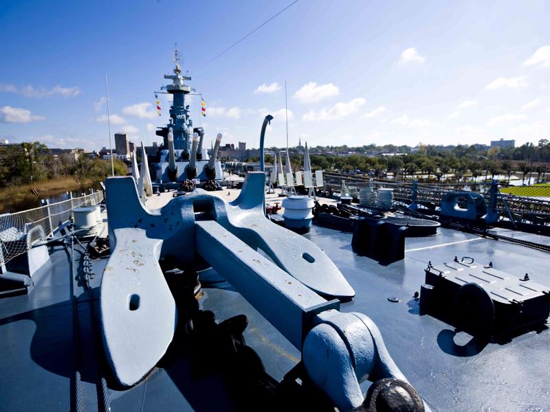 USS North Carolina battleship top things to do in North Carolina