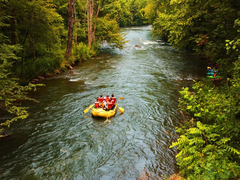 Whitewater Rafting Nantahala River NC