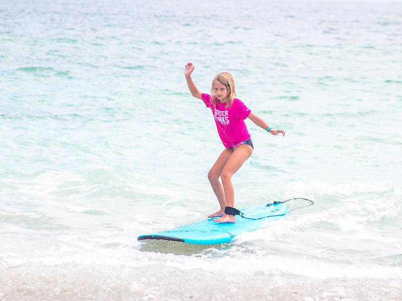 surfing lesson Wrightsville