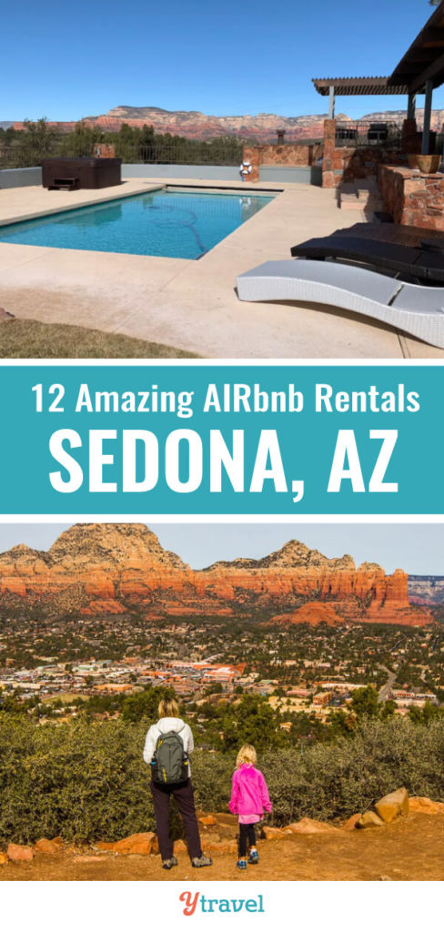 Planning to visit Sedona and looking for great Airbnb Sedona rentals? Check out this short-list of 12 amazing Airbnb vacation rentals in Sedona for all budgets.