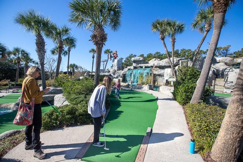 Mini golf in Myrtle Beach