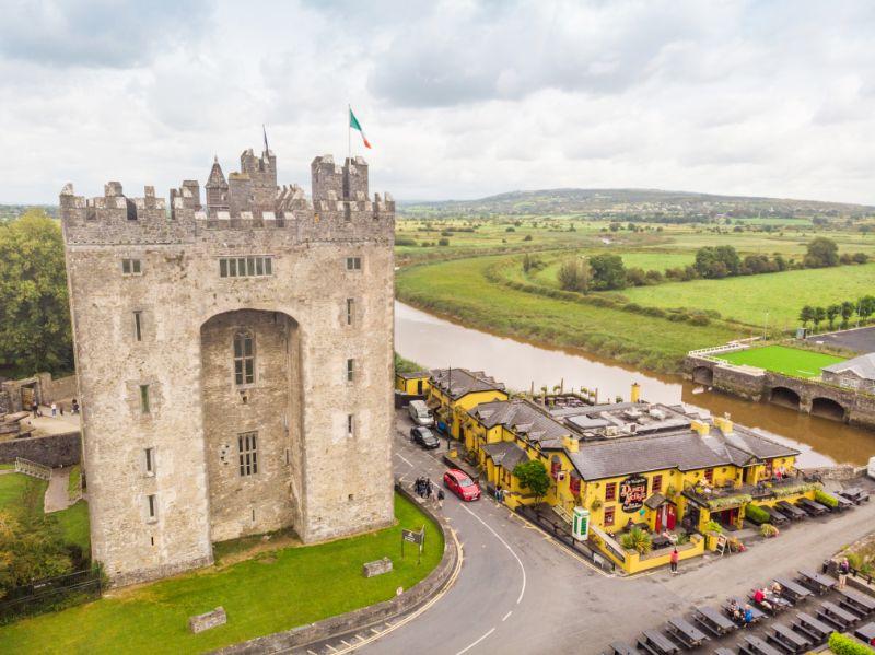 Burnatty Castle Ireland with kids