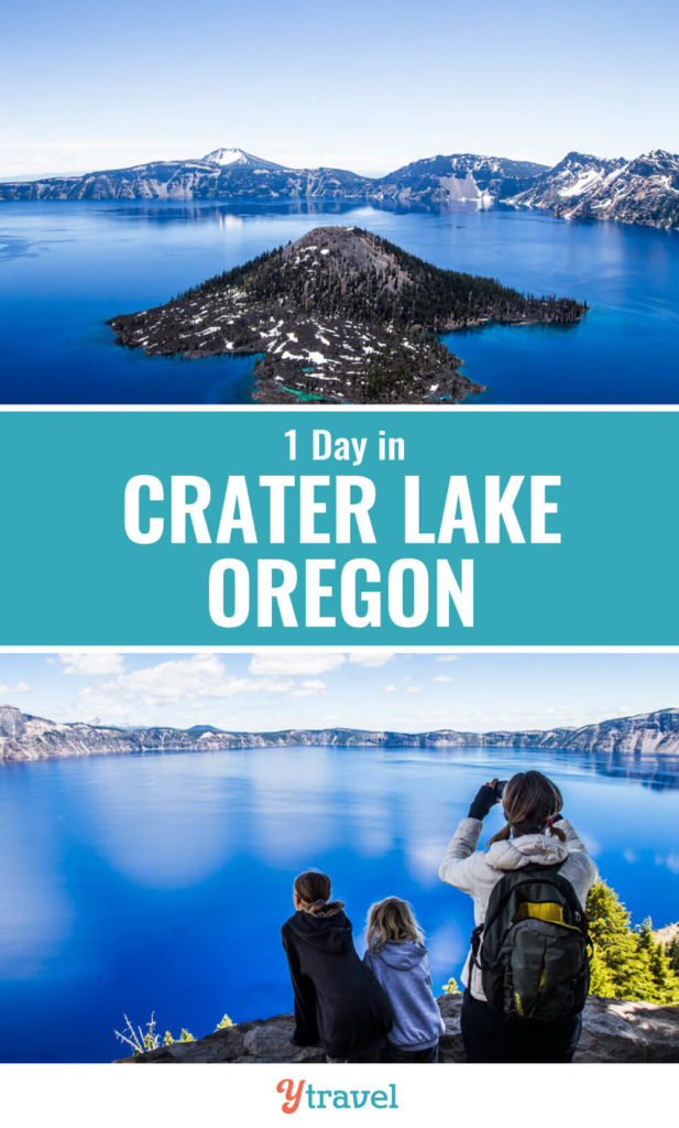 1 Day Trip to Crater Lake National Park (snow-covered!)