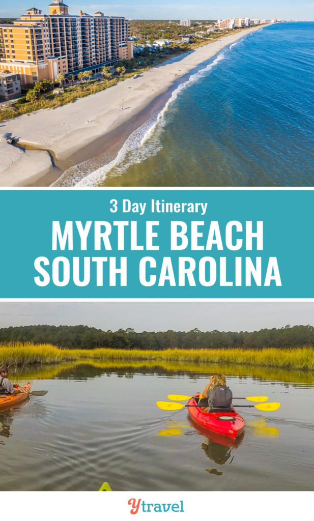Planning to visit Myrtle Beach, South Carolina? Here is a 3 day itinerary with tips on the best things to do in Myrtle Beach including top Myrtle Beach attractions, places to eat and drink, and where to stay. Don't visit South Carolina before reading these Myrtle Beach travel tips!