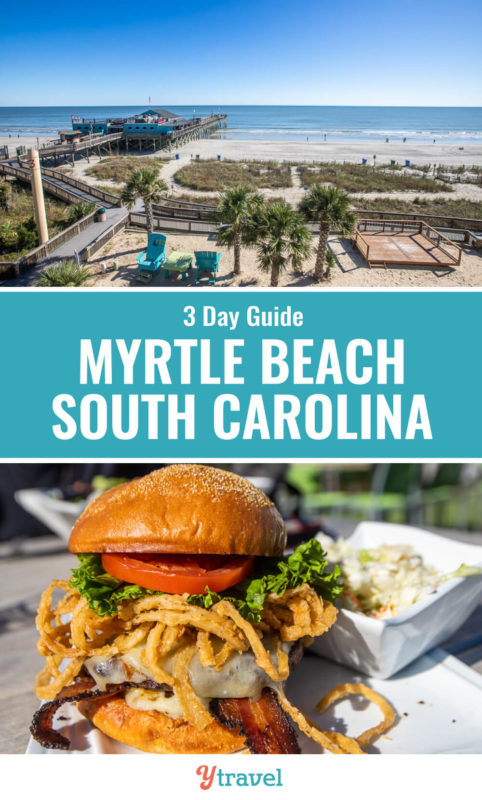 Planning a Myrtle Beach vacation? Here is a 3 day itinerary with tips on the top things to do in Myrtle Beach including the best Myrtle Beach attractions, Myrtle Beach restaurants, and Myrtle Beach vacation rentals. Don't visit South Carolina before reading these Myrtle Beach travel tips!