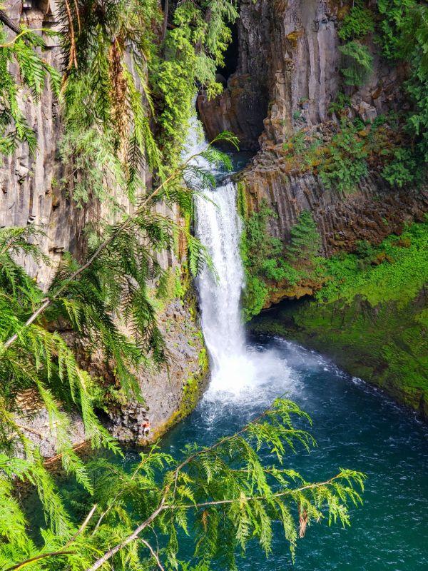 Tokatee Falls, Umpqua National Forest, Oregon