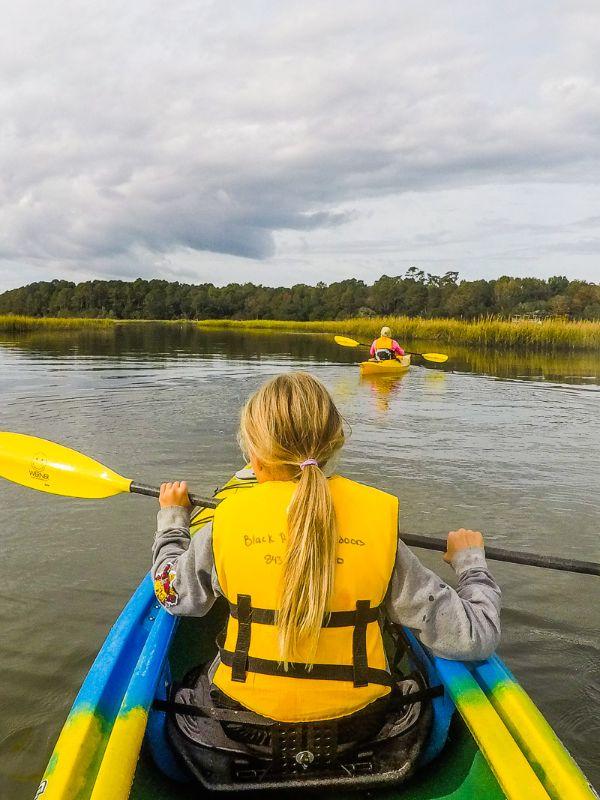 kayaking myrtle beach tours