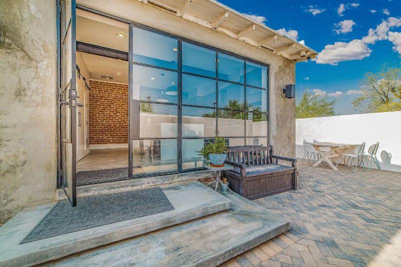 modern western tucson home rental