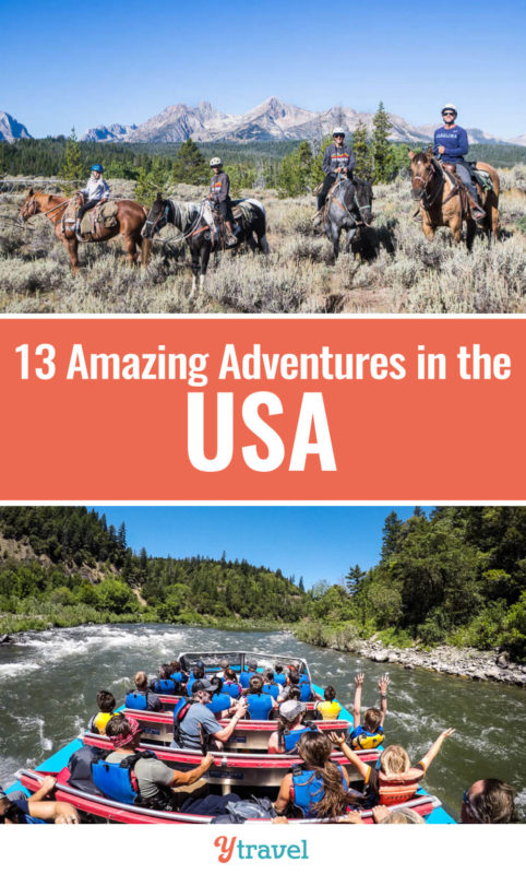 Looking for fun USA travel ideas? Here is a list of 13 fun adventures you can have in the United States. These are unique activities all the family will love. Put these on your USA bucket list for your USA road trip.