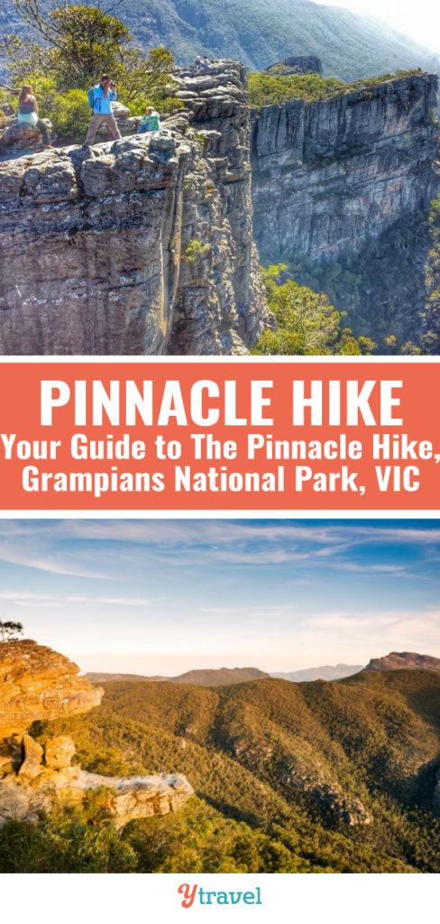 pinnacles walk grampians national park victoria