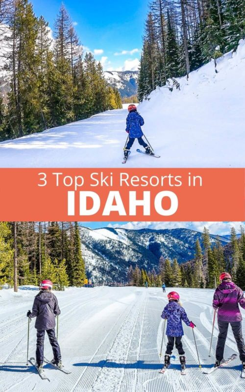 Planning to visit Idaho for skiing? Don't miss these 3 Idaho ski resorts for great powder, beautiful mountain scenery, and fun towns. These ski resorts in Idaho are perfect for families and beginner skiers or even expert skiers. When you take an Idaho trip, put these on your Idaho travel itinerary.