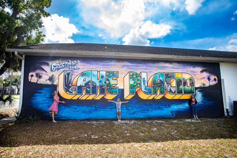 Mural Tour of Lake Placid, Florida