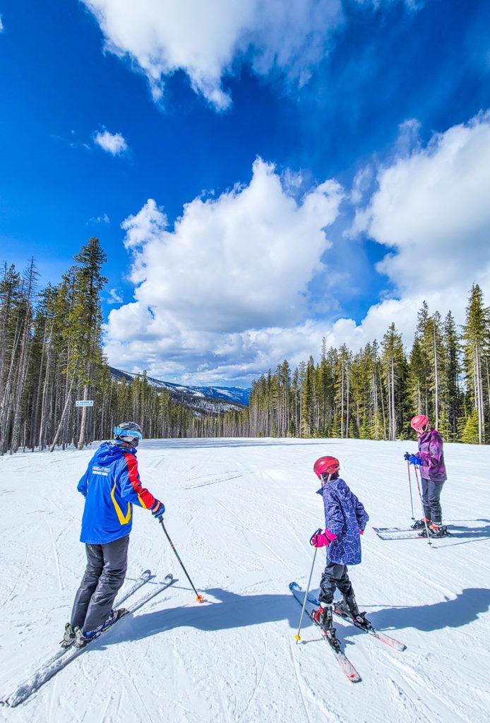 Lookout Pass Ski Resort, Idaho