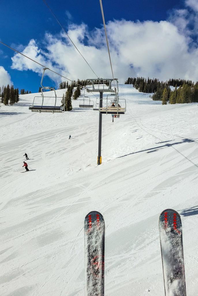 Lookout Pass Chair lift