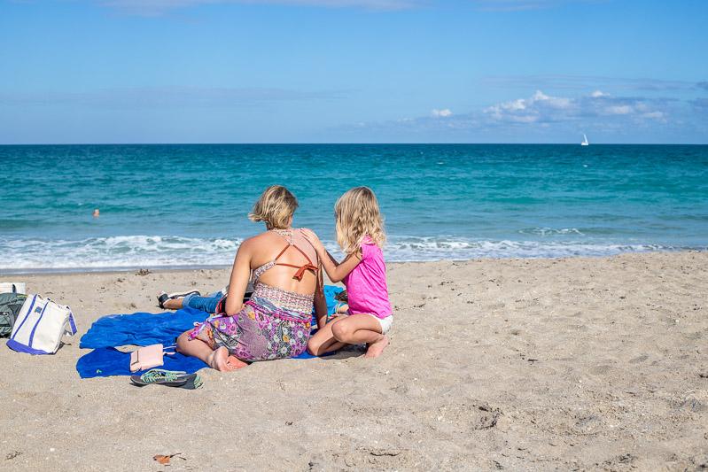 Beach time in Martin County, Fl