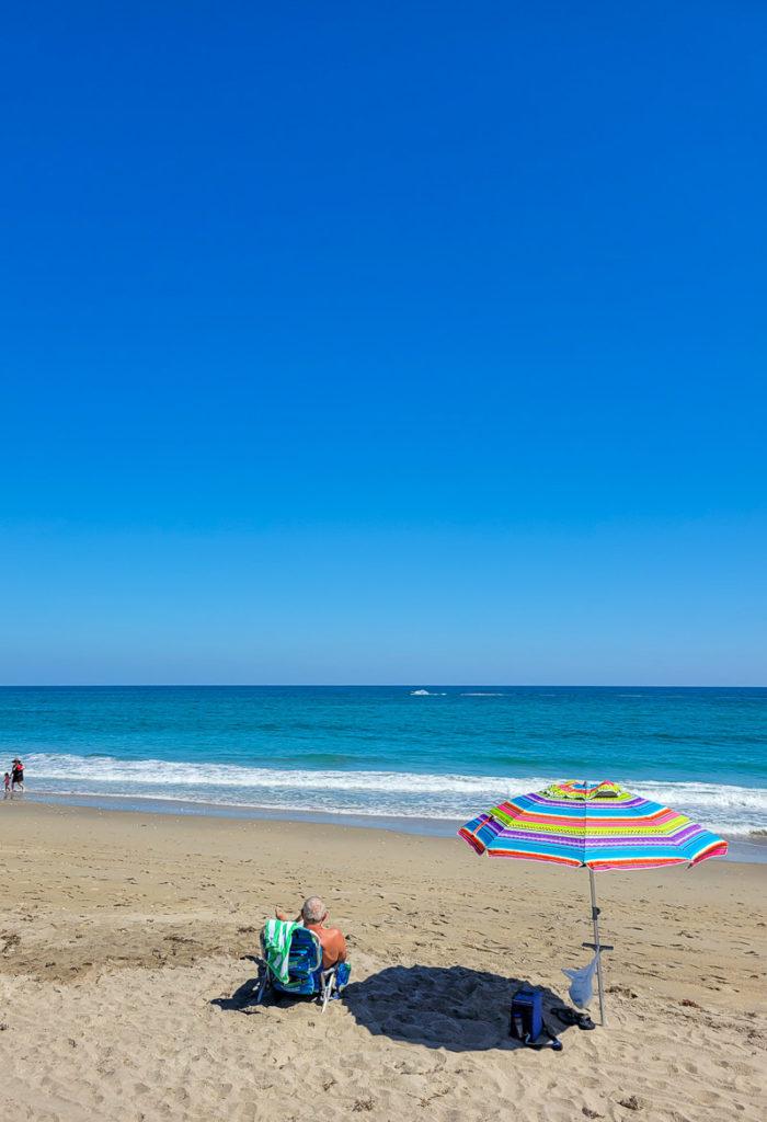 Beach time in Martin County, Florida