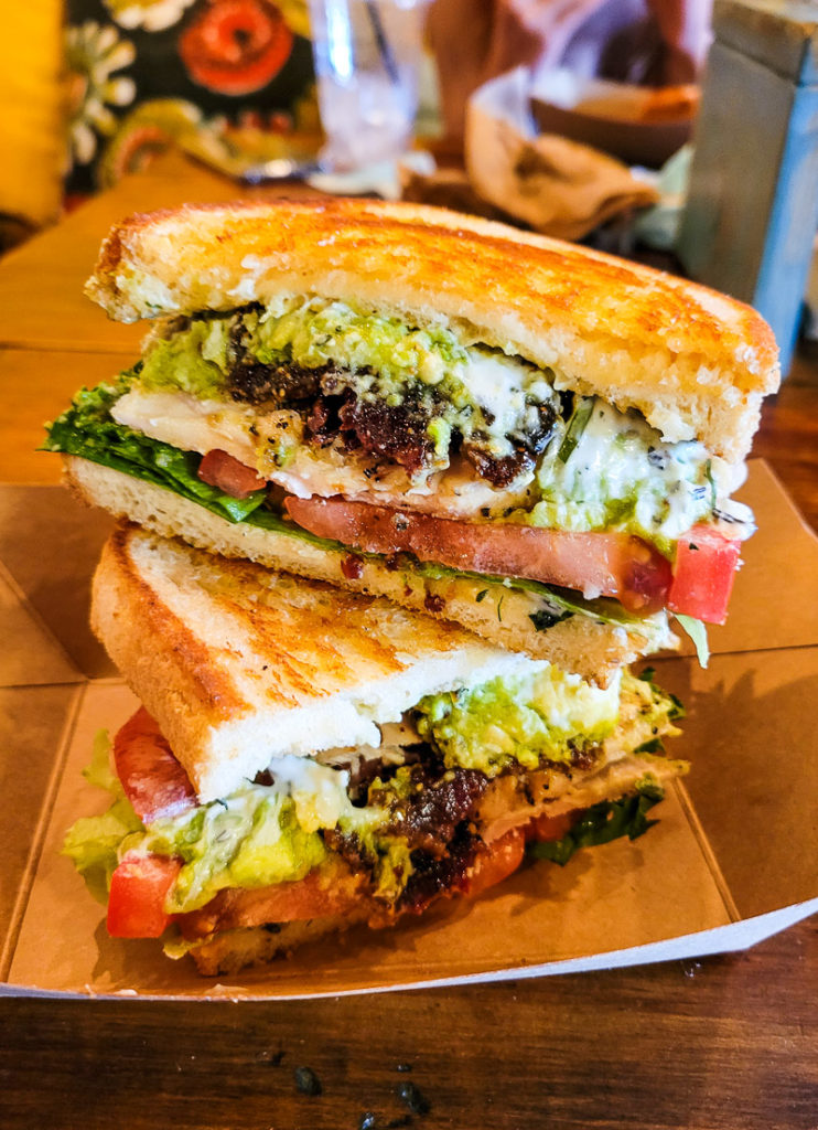 BLT at Morty and Edna's Craft Kitchen, Lake Placid, Florida