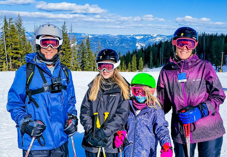 We loved our family ski trip to Idaho