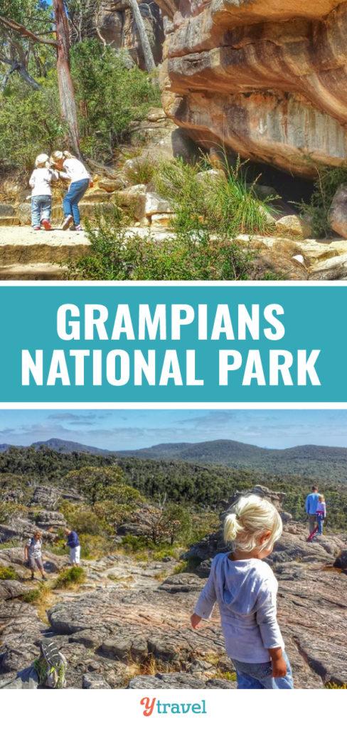pinnacles hike grampians national park vic