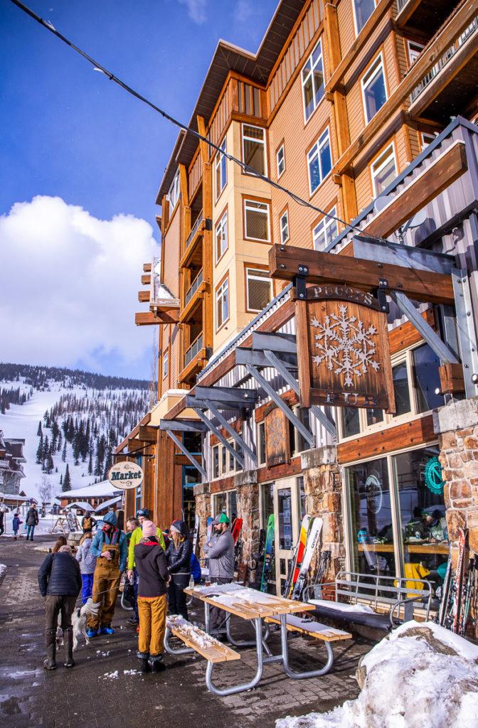 Pucci's Pub in Schweizer Mountain