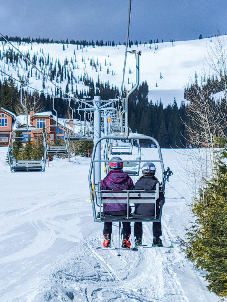 Schweizer Mountain chair lift