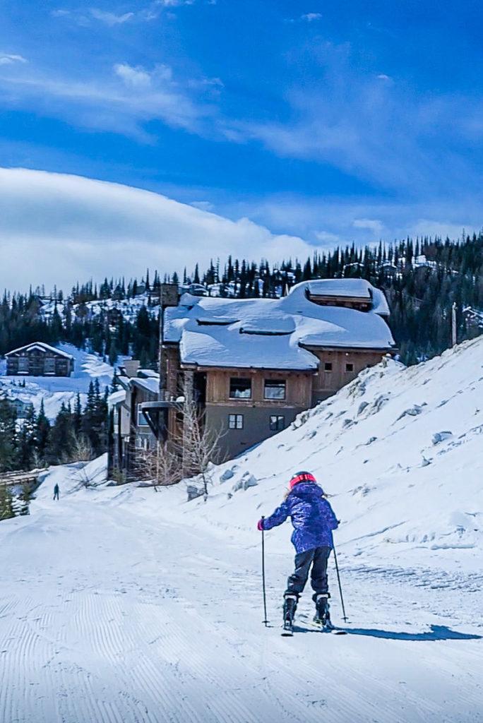skiing in north idaho