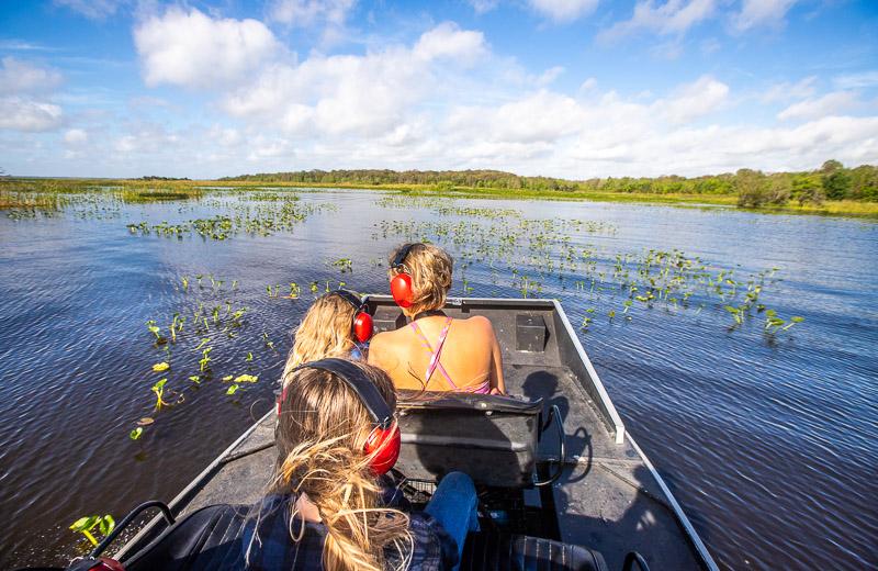 Airboat tour in Sebring, Florida