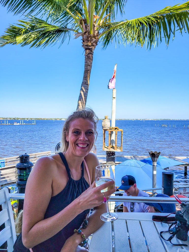 Lunch at Stuart Boathouse in Stuart, Florida