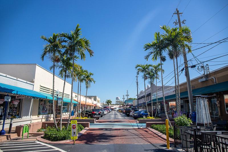 Main street in Stuart, Florida