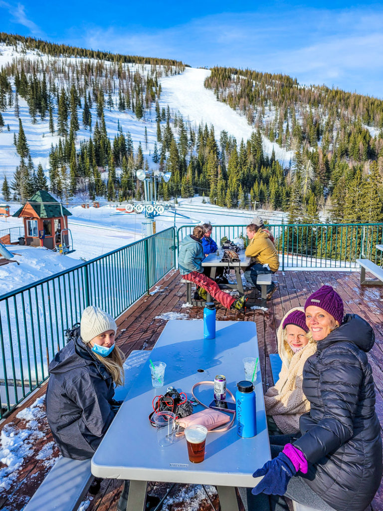 Drink with a view at Schweitzer