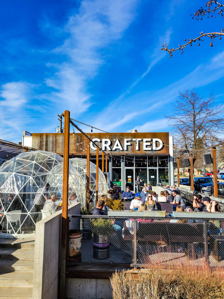 Crafted Brewery in Coeur d'Alene, Idaho