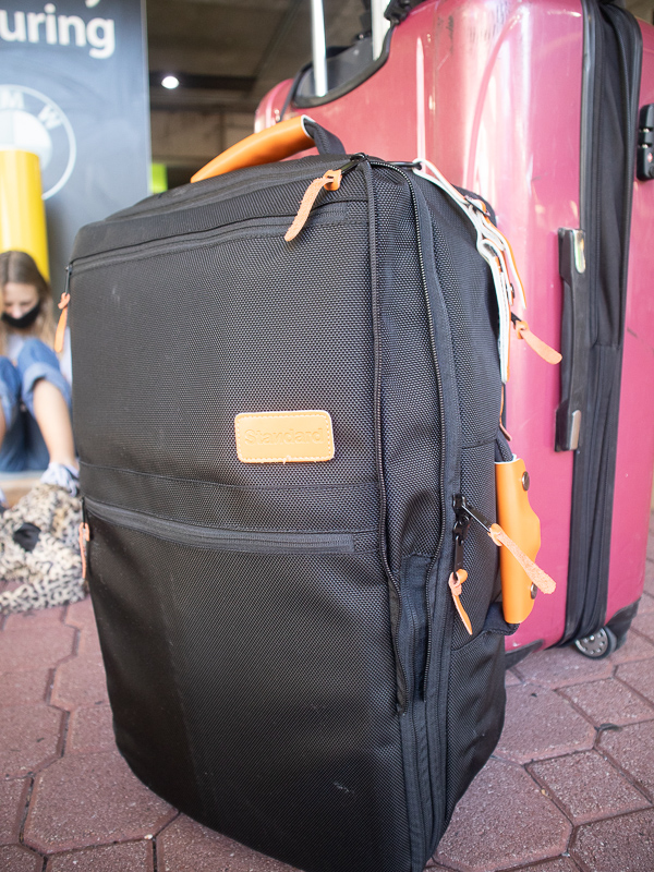 luggage backpack review