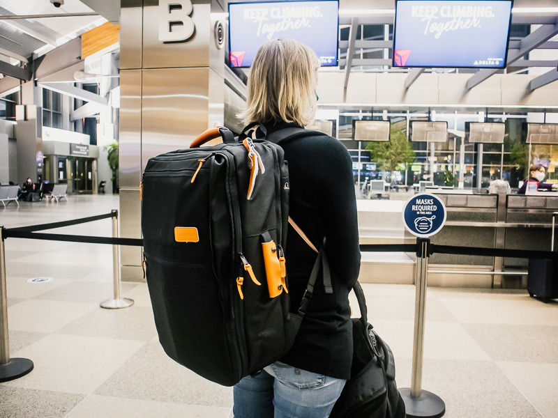 Standard Luggage carryon backpack