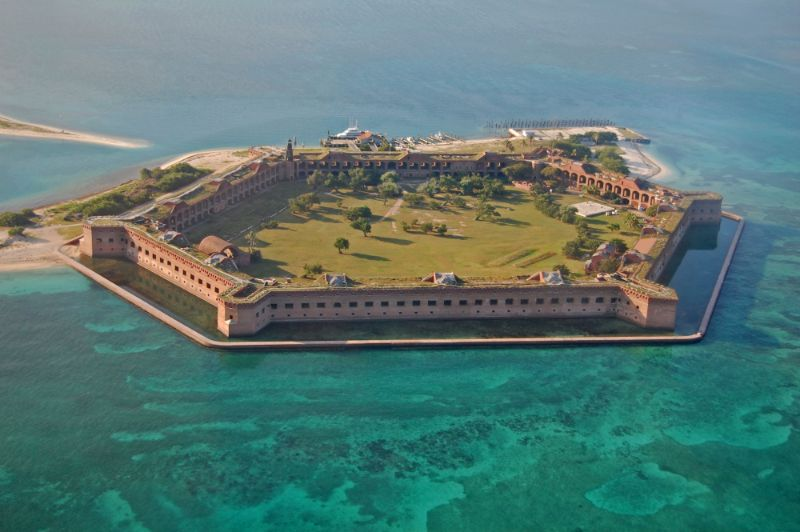 dry tortugas national park with kids