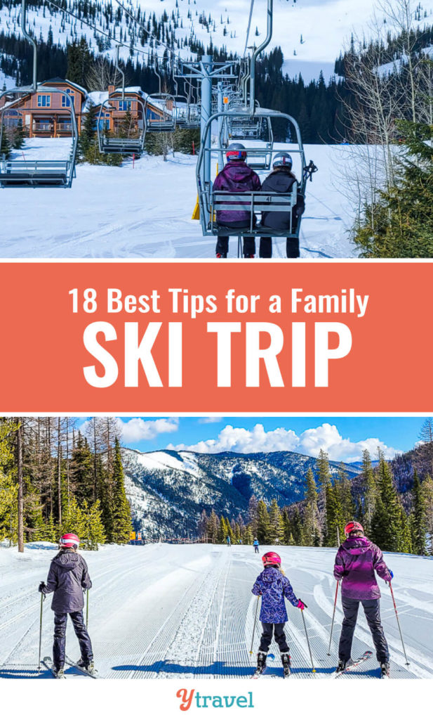If you are planning your first ever family ski trip, check out this list of 18 lessons learned from a ski vacation. What to know before you go, and tips for ski lessons, ski resort life, and much more!