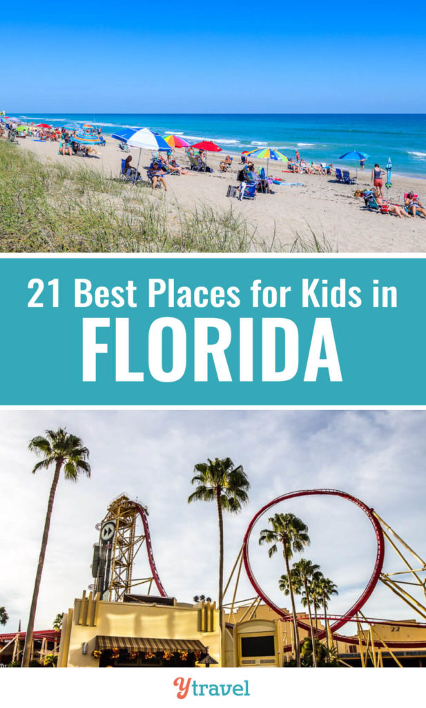 Looking for tips oh how to visit Florida with kids? Check out this list of 22 places to visit in Florida. The Sunshine State is perfect for a family vacation with all the amazing Florida beaches, Florida theme parks, and Florida State Parks. Don't take a Florida vacation before reading these Florida travel tips.