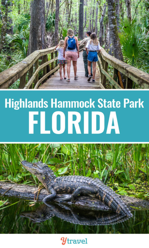 When you visit Sebring in Central Florida, don't miss Highlands Hammock State Park which was Florida's first ever State Park and is gorgeous. Check out this guide!