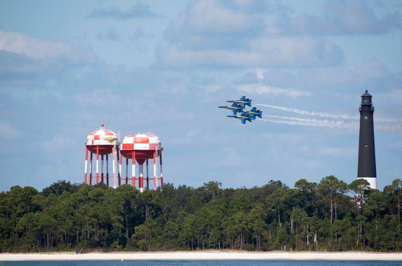 Teh blue angles naval aviation museum Pensacola