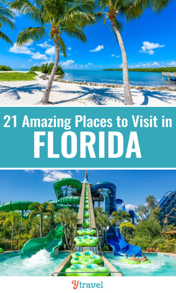 Planning to visit Florida with kids? Check out this list of 22 places to visit in Florida. The Sunshine State is perfect for a family vacation with all the beautiful Florida beaches, Florida theme parks, and State Parks. Don't take a Florida vacation before reading these Florida travel tips.