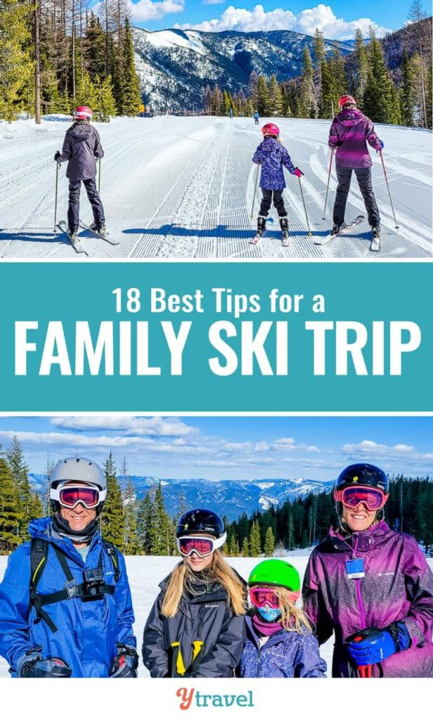 Planning your first ever family ski trip? Don't miss this list of 18 lessons learned from a ski vacation. What to know before you go, and tips for ski lessons, ski resort life, and much more!
