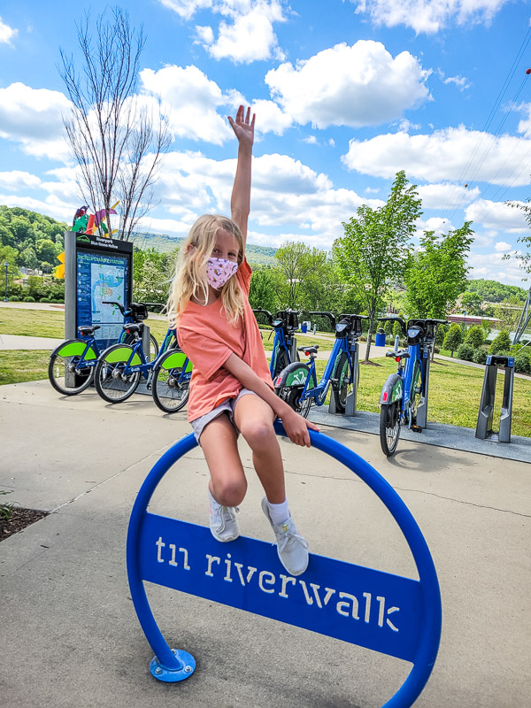 walk the tennesee river with kids