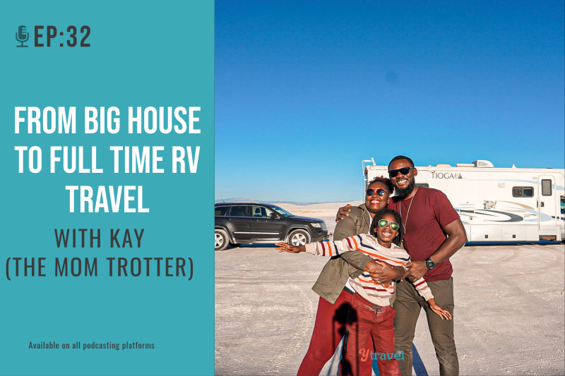 the mom trotter family travel podcast